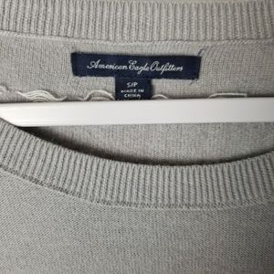 American Eagle Outfitters Sweaters - 🐧American Eagle Gray and White Striped Sweater